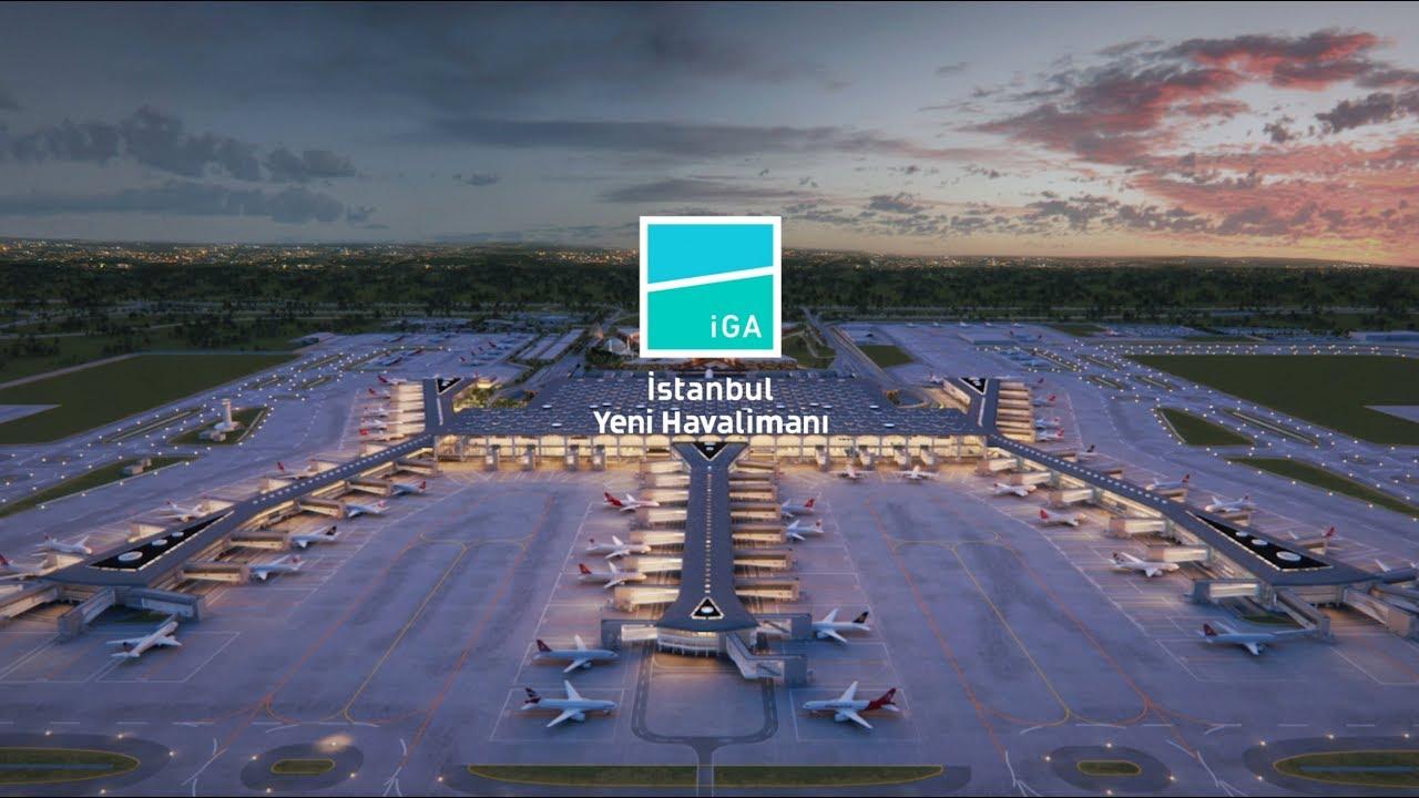 Photo of 3D sunumuyla İstanbul'un yeni havalimanı